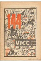 144 vicc rajzban és írásban - Földes György - Régikönyvek