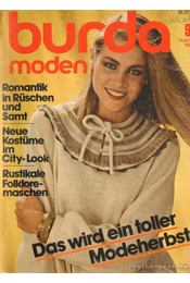 Burda Moden September 1981 (német nyelvű) - Régikönyvek
