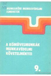 A kőművesmunkák munkavédelmi követelményei 9. - Durkó Miklós - Régikönyvek