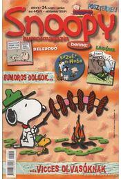 Snoopy 2004/6. 24. szám június - Régikönyvek