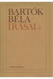 Bartók Béla írásai/5 - Bartók Béla - Régikönyvek