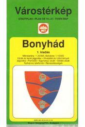 Bonyhád Várostérkép (1:20 000) - Régikönyvek