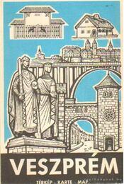 Veszprém térkép - Régikönyvek