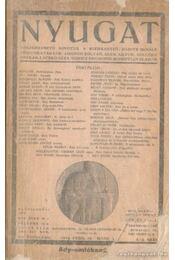 Nyugat 1919. febr. 16.-márc. 1. 4-5. szám - Babits Mihály - Régikönyvek