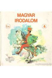 Magyar irodalom 5. osztály - Balogh József - Régikönyvek