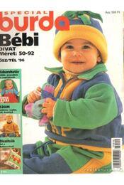 Burda Bébi divat ősz-tél 96 - Régikönyvek