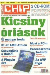 Chip 1999. október 10.szám - Ivanov Péter ( főszerk.) - Régikönyvek