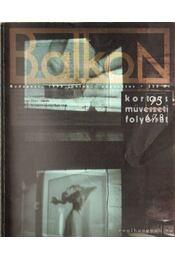 Balkon 1995. június-augusztus - Hajdu István - Régikönyvek