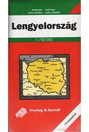 Lengyelország (1:750 000) - Régikönyvek