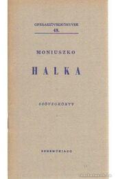 Halka - Moniuszko - Régikönyvek