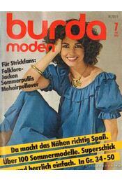 Burda (német) 1981. julius 7. - Régikönyvek