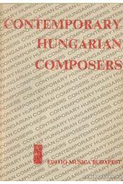 Contemporary Hungarian composers - Régikönyvek