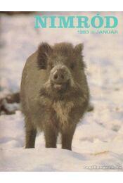 Nimród 1983. 103. évf. (teljes) - Csekó Sándor - Régikönyvek