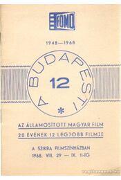 A budapesti 12 - Régikönyvek