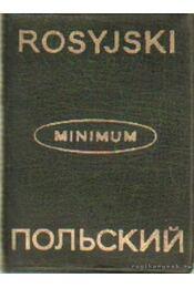Orosz-lengyel; lengyel-orosz szótár - Chlabicz, Józef - Régikönyvek