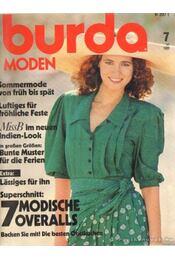 Burda Moden 1989/7 - Susanne Reinl (szerk.), Ingrid Küderle (szerk.) - Régikönyvek