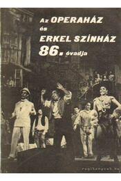 Az Operaház és Erkel színház 86. évadja - Régikönyvek