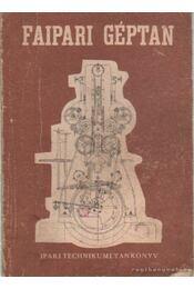 Faipari géptan - Becske Ödön - Régikönyvek