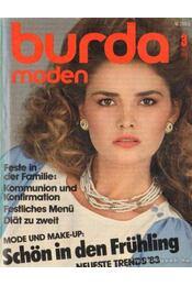 Burda (német) 1983. március 3. - Régikönyvek