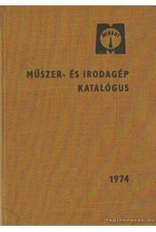 Műszer- és irodagép katalógus I-III. kötet - Régikönyvek