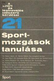 Sportmozgások tanulása - Nádori László dr. - Régikönyvek