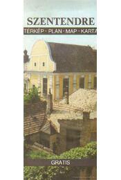 Szentendre térkép - Régikönyvek