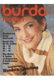 Burda Moden 1984./1. Januar (német nyelvű) - Régikönyvek