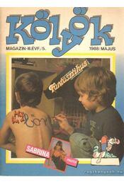 Kölyök magazin 1988. május - Berkes Péter - Régikönyvek