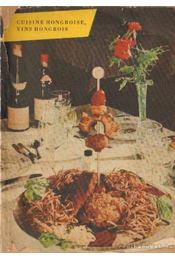 Cuisine Hongroise, vins Hongrois - Régikönyvek