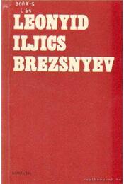 Leonyid Iljics Brezsnyev - Brezsnyev, L. I. - Régikönyvek