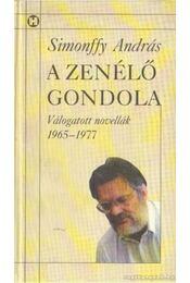 A zenélő gondola - Simonffy András - Régikönyvek