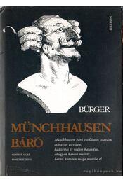 Münchhausen báró - Gottfried August Bürger - Régikönyvek