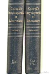 Cassell's encyklopaedia of literature I-II. kötet - STEINBERG, S.H. - Régikönyvek