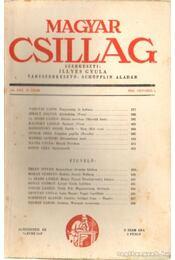 Magyar Csillag 1943. október 19. szám - Illyés Gyula - Régikönyvek