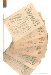 Válogatott dalszövegek (6 füzetecske) - Régikönyvek