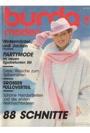 Burda Moden 1986./10. Oktober (német nyelvű) - Régikönyvek