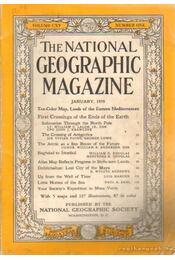 The national geographic magazine 1959, January - Bell Grosvenor, Melville - Régikönyvek