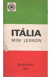 Itália - Mini lexikon - Dr. Dombi József - Régikönyvek