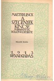 A szegények kincse - Maeterlinck, Maurice - Régikönyvek