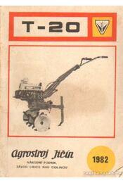 T-20 - Podnik, Národni - Régikönyvek