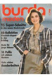 Burda moden 1986/2 - Régikönyvek