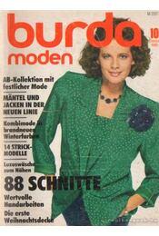 Burda Moden Oktober 1985 (német nyelvű) - Régikönyvek