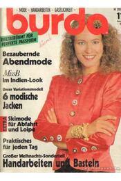 Burda November 1989 (német nyelvű) - Régikönyvek