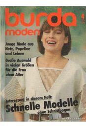 Burda Moden 1984/4. April (német nyelvű) - Régikönyvek