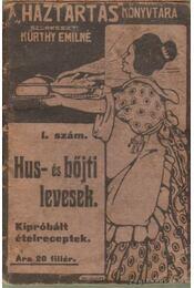 Hus- és bőjti levesek (mini) - Kürthy Emilné (szerk.) - Régikönyvek