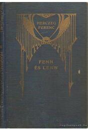 Fenn és lenn - Herczeg Ferenc - Régikönyvek