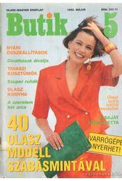 Butik 1992. május - Moldován Katalin - Régikönyvek