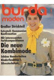 Burda Moden Januar 1985 (német nyelvű) - Régikönyvek