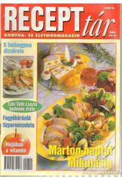 Recepttár 1999/9 - Wanatka Gabriella - Régikönyvek