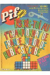 Pif Gadget 651 - Inscris-toi au 1er championnat de France junior de Rubik's cube - Régikönyvek